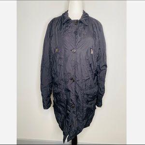 PRADA vintage nylon winter jacket black oversized